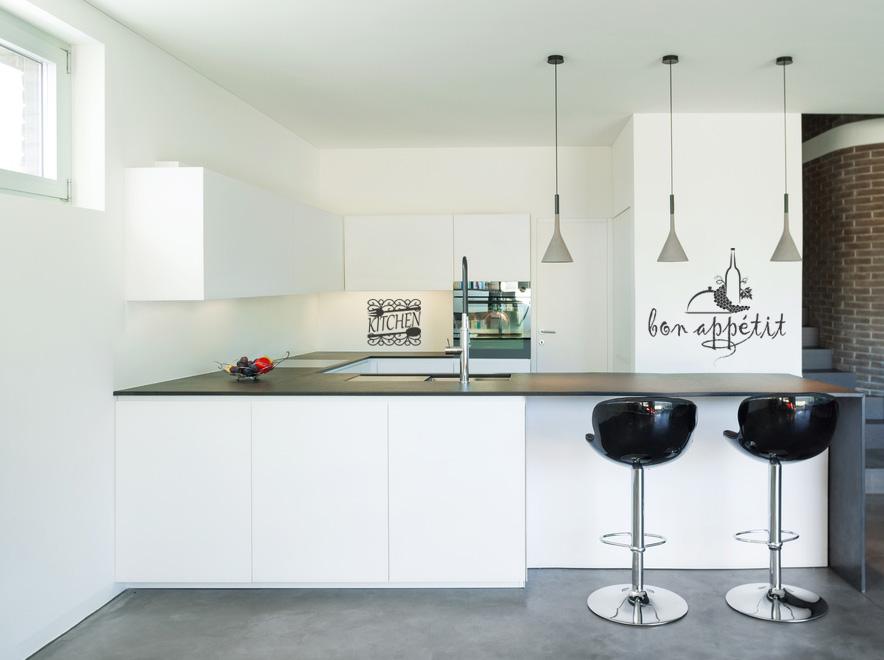 Wandtattoos in der Küche